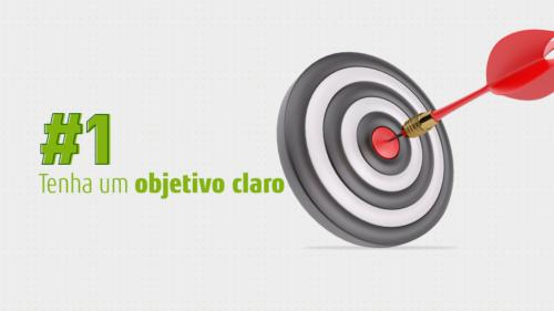 dicas de design gráfico - objetivo claro